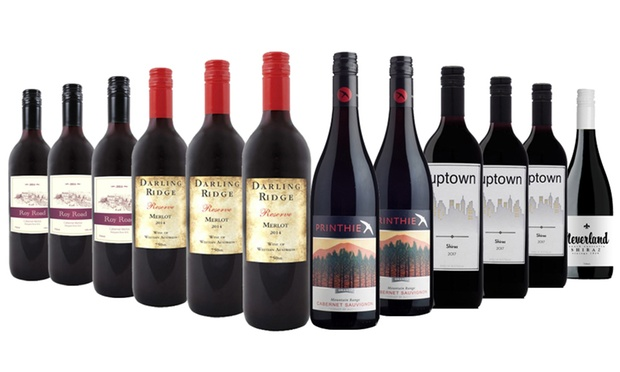 From $69 for a 12 Bottle of Red, White or Mixed Wine Case (Don't pay up to $199)
