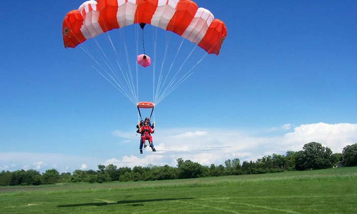 Skydive Adventure - Omro: $139 for Tandem Skydive from Skydive Adventure ($205 Value)