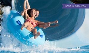 Aqua Badajoz: Entrada día completo al parque acuático Aqua Badajoz para 1 a 2 personas el 17 o 18 de junio desde 10 €