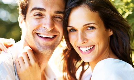 Dental Package with Optional Teeth Whitening at Keller Family Dental (Up to 92% Off). Four Options Available.