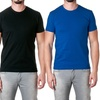 NLA Men's 100% Cotton Fitted Crew-Neck Tees