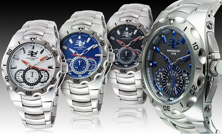 32 Degrees Glacial Chronograph Men's Watches. Multiple Styles Available. Free Returns.