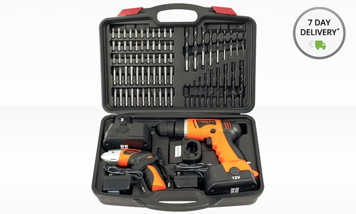 Stalwart 74-Piece Cordless Drill and Screwdriver Set: Stalwart 74-Piece Cordless Drill and Screwdriver Set in a Plastic Carrying Case (75-10601). Free Returns.
