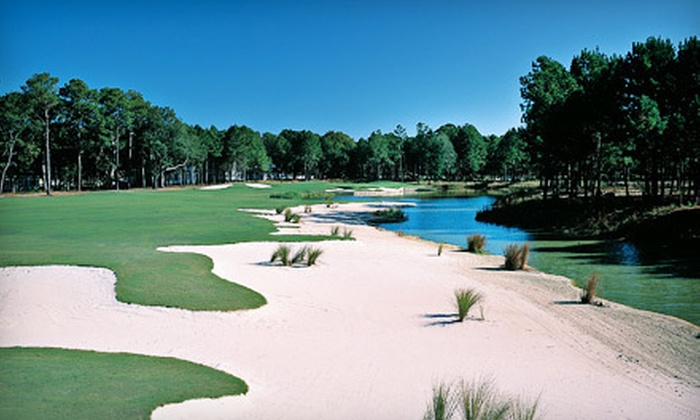 Crescent Pointe Golf Club - Bluffton: 18-Hole Round of Golf for Two or Four with Cart and Range Balls at Crescent Pointe Golf Club (54% Off)
