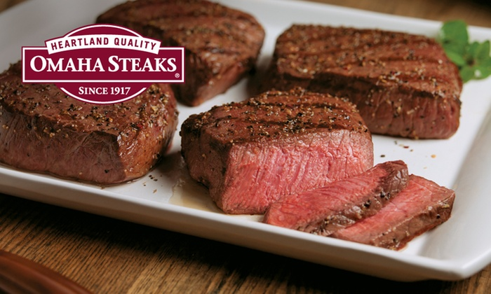 Omaha Steaks Inc. **NAT**: New Year's Steak Combo Pack from Omaha Steaks (Up to 70% Off). Three Options Available.