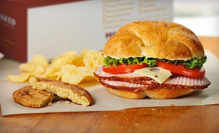 Sandwiches and Cookies for Two or Four at HoneyBaked Ham (Half Off)