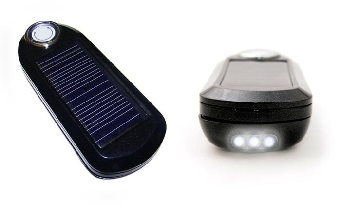 Kiwi U-Powered 2,000mAh Solar and USB Charger: Kiwi U-Powered 2,000mAh Solar and USB Charger in Black or White. Free Returns.