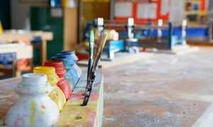Cara Bailey Studios: Three-Hour BYOB Painting Class for One, Two, or Four at Cara Bailey Studios (Up to 56% Off)