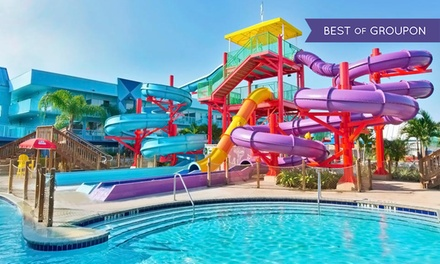 groupon daily deal - Stay at Flamingo Waterpark Resort in Kissimmee, FL. Dates Available into April.