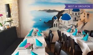 Taverna Astakos: Griechisches 4-Gänge-Menü inkl. Ouzo für zwei oder vier Personen in der Taverna Astakos (bis zu 45% sparen*)