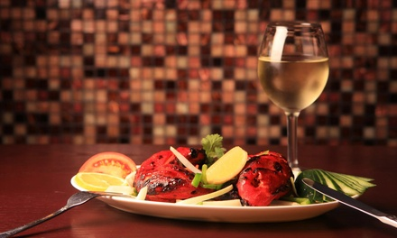 $15 for $30 Worth of Dinner and Drinks at India Palace Bar & Tandoor