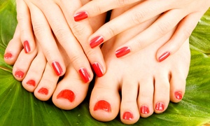 Everything Hair & Nails Salon: Nail Services at Everything Hair & Nails Salon (Up to 55% Off). Four Options Available.