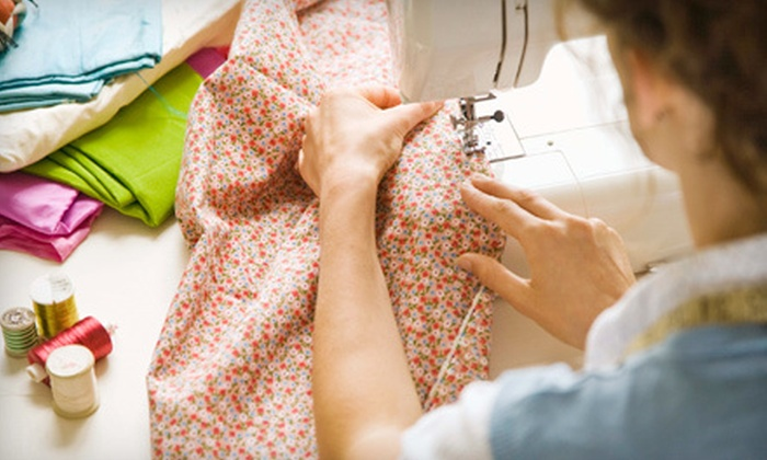 Bad Girl Quilting - Brighton: Private, One-Hour Quilting Class for One or Two at Bad Girl Quilting (Up to 60% Off)