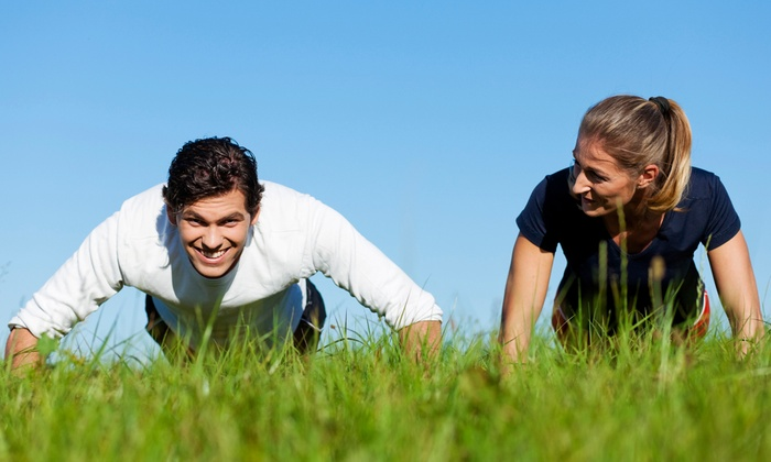 J Nichols Fitness - Mount Pleasant: Four-Week Outdoor Boot Camp for One or Two from J Nichols Fitness (Up to 77% Off)