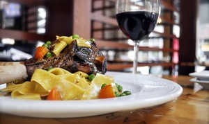 Robust Wine Bar & Café: $75 for Two $50 Gift Cards for Wine and International Cuisine at Robust Wine Bar & Café ($100 Value)