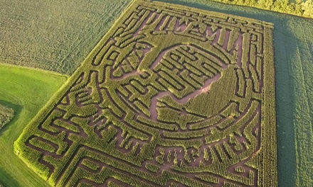 Corn Maze for Two or Four at The Farm In Harmony on September 15–November 10 (Up to 41% Off)