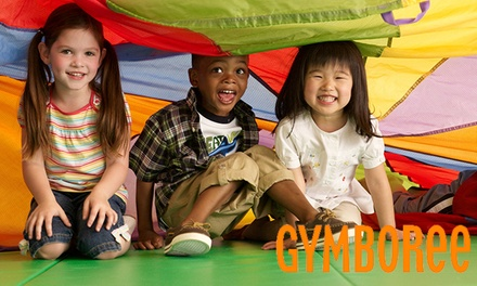 One or Two Months of Kids' Classes with Unlimited Open Gym at Gymboree (Up to 58% Off)