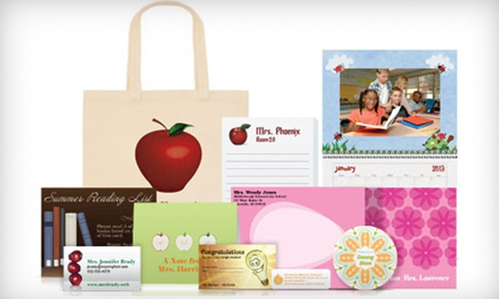 Vistaprint: $20 for $80 Worth of Personalized School Supplies, Clothing, and Gifts from Vistaprint