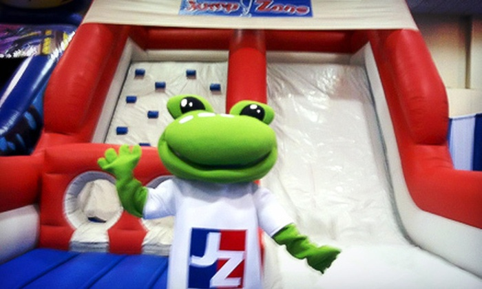 Jump!Zone - Canton: 6 or 12 Three-Hour Open-Play Sessions or a One-Week After-School Program at Jump!Zone (Up to 52% Off)