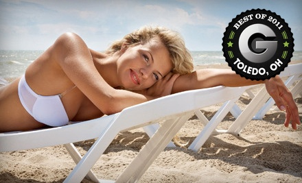 One Airbrush-Tanning Session (a $35 value) - SunSpray Airbrush Tanning by Kathryn in Holland