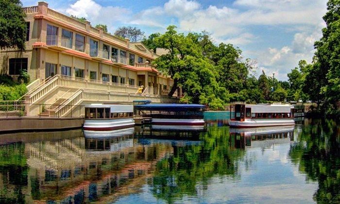 The Meadows Center - Texas State University: Glass-Bottomed-Boat Tour for Two, Four, or Six at The Meadows Center (Up to 44% Off)