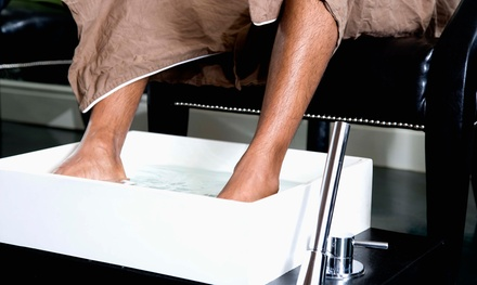 Regular Men's Manicure with Optional Pedicure at ManCure (Up to 51% Off)