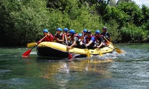 Centro Rafting Avventuristicando: 5 km di discesa Soft Rafting con guida fluviale per 2 persone al Centro Rafting Avventuristicando (sconto 71%)
