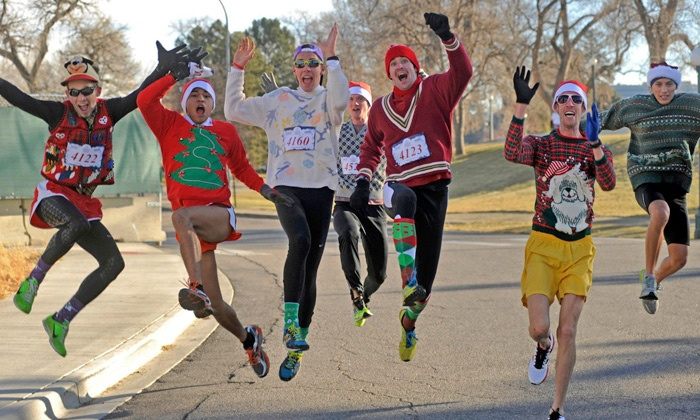 The Ugly Sweater Run - Multiple Locations: $20 for Entry to The Ugly Sweater Run 5K on November 16 or November 30 (Up to $39 Value)