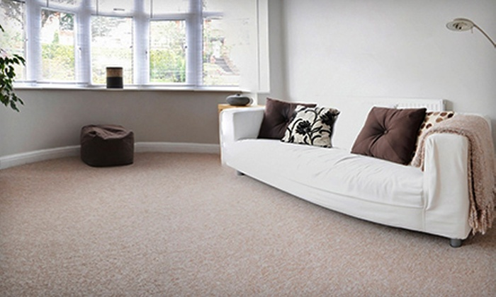 JJ's Carpet, Upholstery & Tiles - Toronto: $29 for Carpet Cleaning for Up to Three Rooms and One Hallway from JJ's Carpet, Upholstery & Tiles (Up to $180 Value)