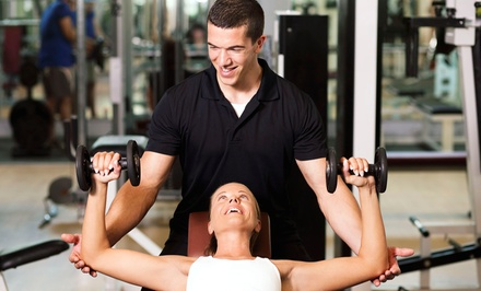 One- or Two-Month Gym Membership with Personal-Training Sessions at Fitness 19 (Up to 64% Off)