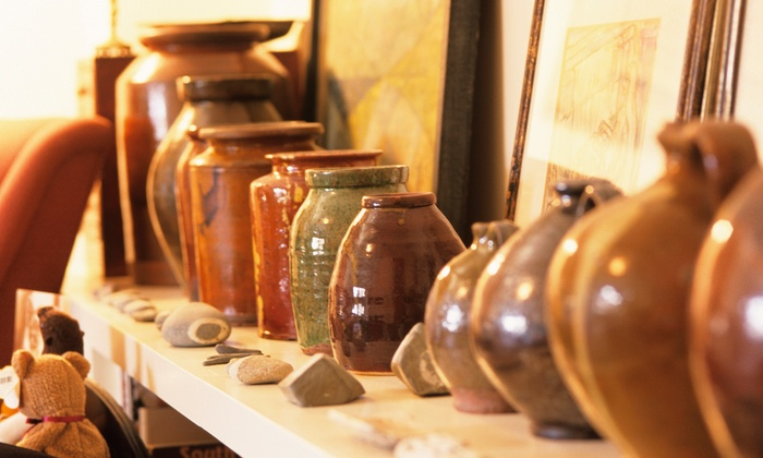 Crankpots Ceramic Studio - South Central Edmonton: C$27 for a Ceramics-Painting Outing  at Crankpots Ceramic Studio (Up to C$50 Value)
