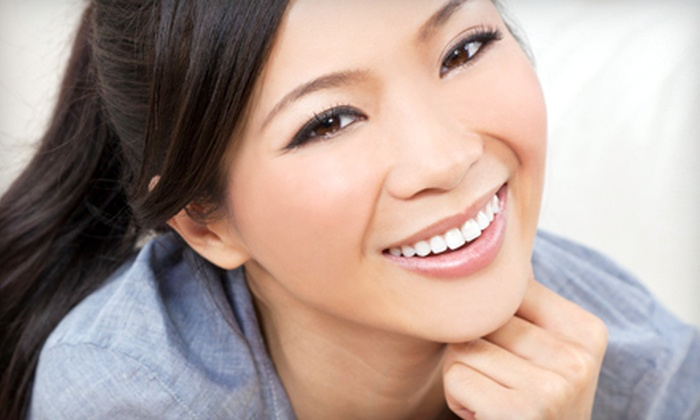 Alpha Star Dental - Dr. Violetta Thierbach: Dental Exam with Cleaning, Zoom! Teeth Whitening, or Both at Alpha Star Dental in Brooklyn (Up to 81% Off)