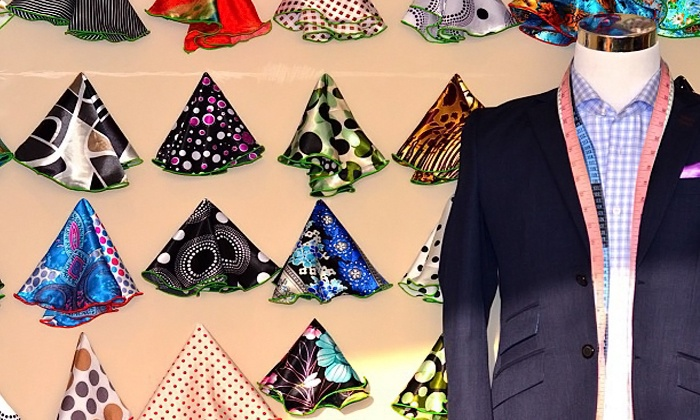 BookATailor - Multiple Locations: One Custom Shirt with a Pocket Round, Three Custom Shirts, or One Custom Blazer at BookATailor (Up to 63% Off)