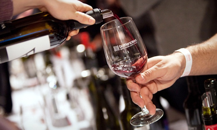 Bottlenotes: Regular or VIP Outing to Around the World in 80 Sips Wine Tasting on Friday, April 20, from Bottlenotes (Up to 51% Off)