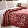 Hotel New York Queen Flannel Blanket