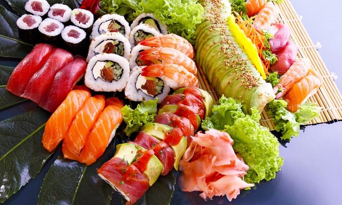 Ikki Sushi - IKKI SUSHI: Ikki Sushi - Menu sushi con birra o vino da 34 € invece di 77