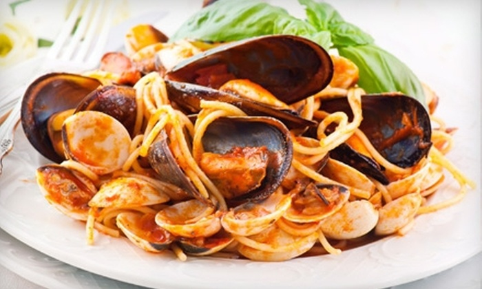 Caffe Dolce Vita - Federal Hill: Italian Cuisine and Drinks at Caffe Dolce Vita (Up to 57% Off). Two Options Available.