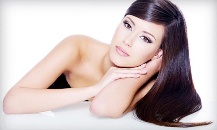 Hottie Hair Hawaii - Kalihi - Palama: Shine Treatment, Keratin-Treatment Package, or Partial-Highlights Package at Hottie Hair Hawaii (Up to 53% Off)