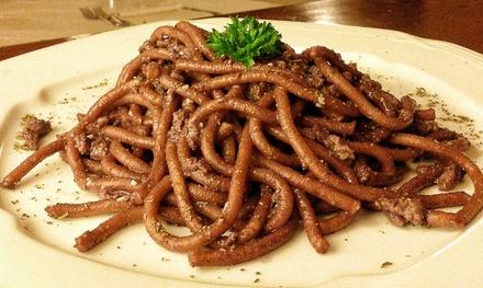 Menu tipico con Lambrusco a 34,90euro