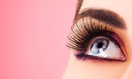 Set of Eyelash Extension with Optional Fill Treatment at Fab Eyelashes (Up to 76% Off)