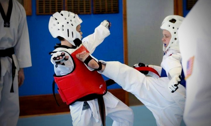 Shinn's Tae Kwon Do - Multiple Locations: 5 or 10 All-Ages Martial-Arts Classes at Shinn's Tae Kwon Do (Up to 67% Off)