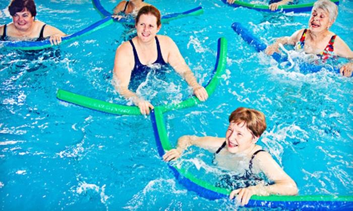 AquaCenter Swim School - Multiple Locations: 20 or 10 AquaFit Classes at AquaCenter Swim School (Up to 62% Off)
