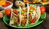 FIESTA  mexican cuisine - Apple Valley: Mexican Cuisine at Fiesta Mexican Cuisine (50% Off). Two Options Available.