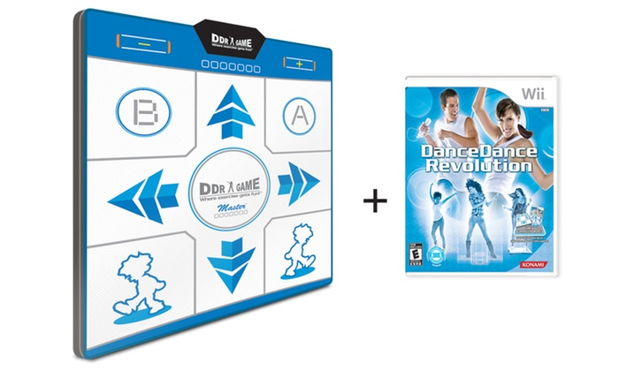 Wii DDR Bundle with Dance Pad: $29.99 for a Dance Dance Revolution Bundle for Wii with Foam Dance Pad ($139.99 List Price). Free Shipping and Returns.