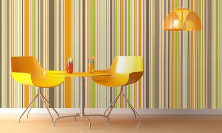 Easy-to-Remove Custom Wall Coverings from InkShuffle.com (61% Off). Two Options Available.