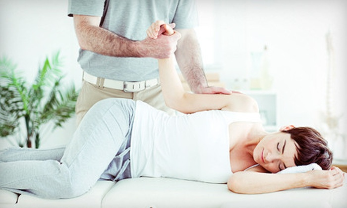 Chiro One Wellness Center - Multiple Locations: $45 for a Four-Visit Chiropractic Package with X-rays and Adjustments at Chiro One Wellness Center ($1,325 Value)