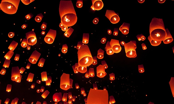 SkyLantern.com: Sky Lanterns and Party Supplies from SkyLantern.com (Up to $91 Off). Three Options Available.