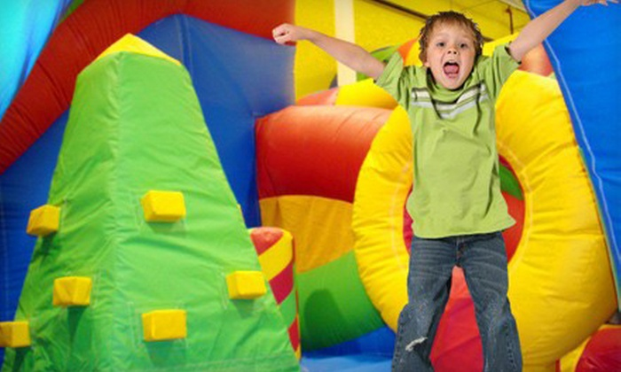 Jumpin' Jordy's - West Central Westminster: One Open-Jump Bounce-House Session for Two, Three, or Four Kids at Jumpin' Jordy's (Up to 53% Off)