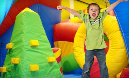 One Open-Jump Bounce-House Session for Two, Three, or Four Kids at Jumpin' Jordy's (Up to 53% Off)