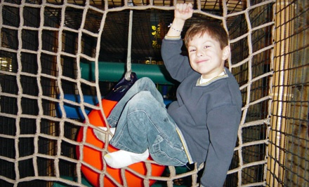 Punch Card for 5 or 10 Indoor-Play Visits at Lookout Ridge Indoor Playground (Up to 56% Off)